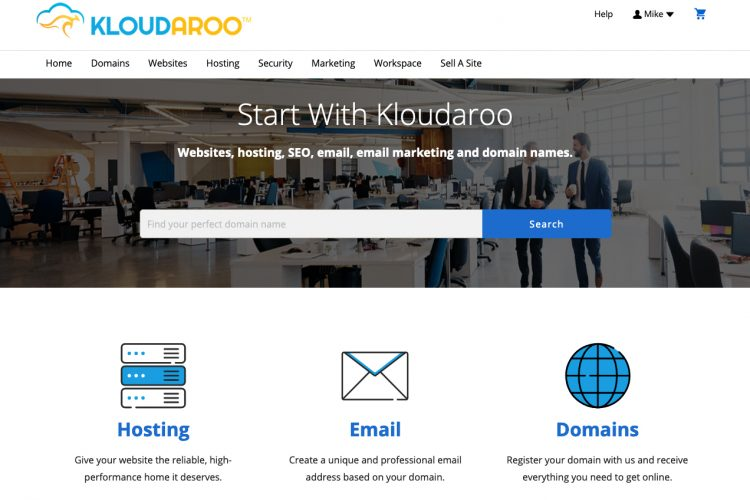 kloudaroo web services